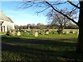 TM4997 : St. Mary's Churchyard, Somerleyton by Adrian Cable