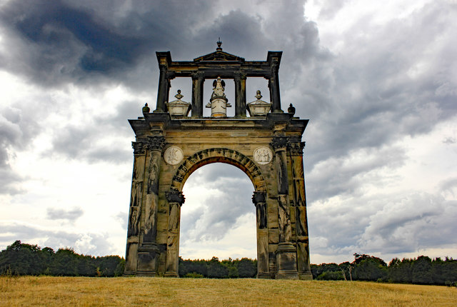 Hadrian's Arch at Shugborough Park