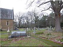 TQ0165 : Holy Trinity, Lyne: churchyard (IX) by Basher Eyre
