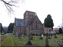 TQ0165 : Holy Trinity, Lyne: churchyard (XI) by Basher Eyre