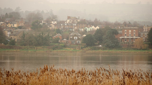 Newnham, from across the river, 1