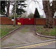 ST3390 : Entrance to the Autism Centre, Caerleon by Jaggery