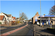 NS6113 : New Cumnock, New Year's Day by Billy McCrorie