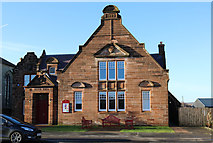 NS6113 : Town Hall, New Cumnock by Billy McCrorie