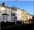 ST3087 : Three-storey houses near St Woolos Hospital, Newport by Jaggery