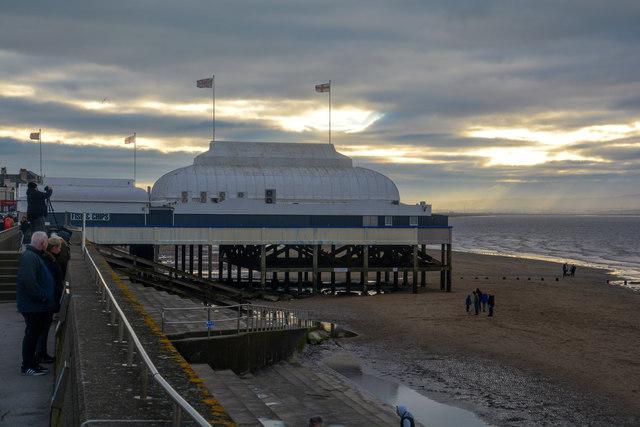 Burnham-on-Sea : Berrow Sands & Pier