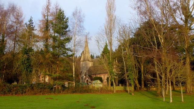 St. John the Baptist's church, Huntley
