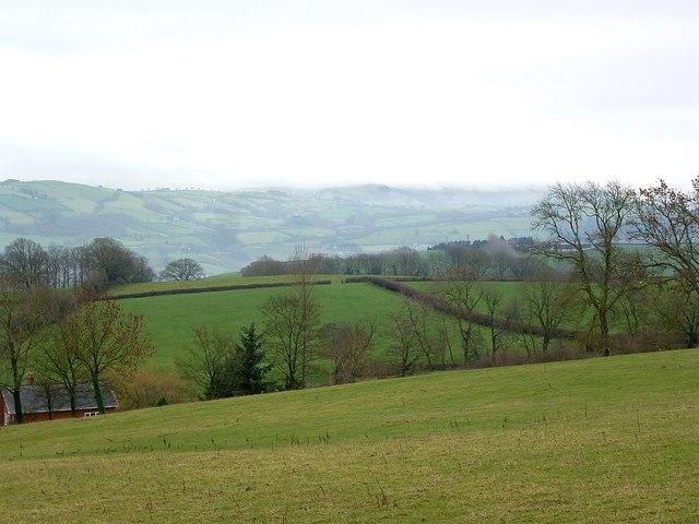 View southwest from Pen-shwa Lane