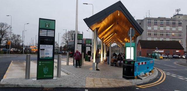 Newbury's New Bus Station