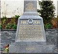 SJ2142 : Llangollen War Memorial: Front detail by Gerald England