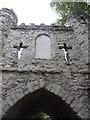 TQ2550 : Inscription on Reigate Castle Gateway by David Hillas
