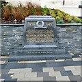SJ2142 : Llangollen War Memorial: WWII stone by Gerald England