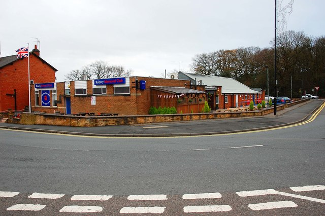 Rubery Memorial Club, 64 New Road, Rubery, near Birmingham