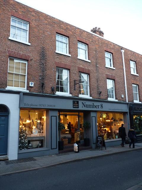 8 St Mary's Street, Shrewsbury