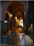 SJ3589 : Liverpool Anglican Cathedral - Dulverton Bridge by Colin Park