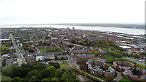 SJ3589 : Liverpool Anglican Cathedral - View S from tower by Colin Park