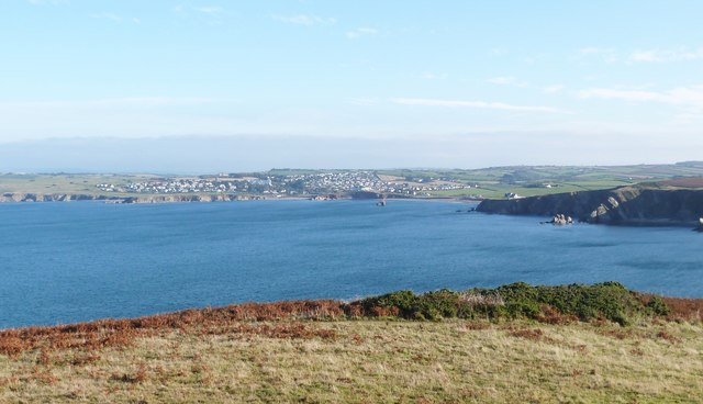 Looking North from Bolt Tail towards Thurlestone, Devon