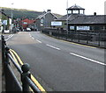 SN9768 : A470 towards the centre of Rhayader by Jaggery