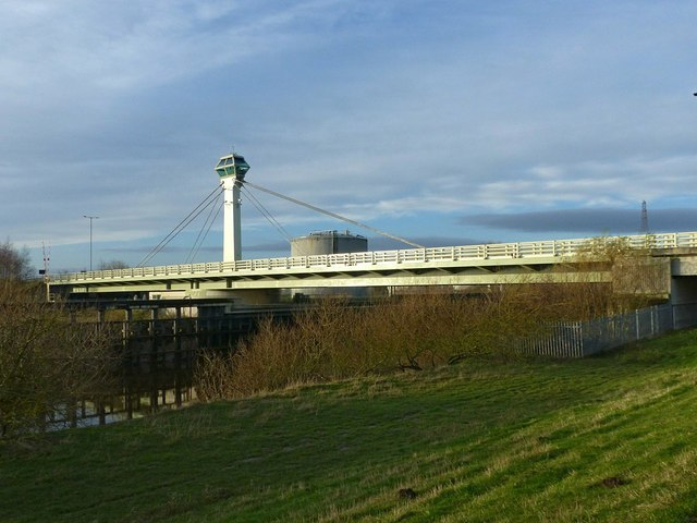 Selby bypass swing bridge