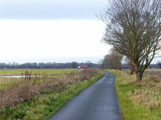 Thief Lane near Selby
