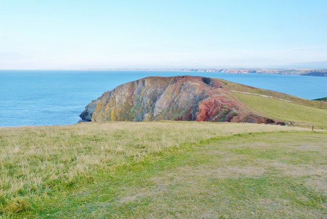 SW coast path, Bolt Tail, South Devon