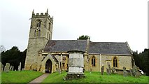SP1452 : Welford on Avon - St Peter's Church by Colin Park