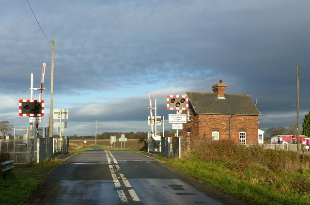 Linwith Lane level crossing