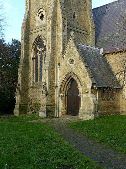 Anglican church of St Mary, Carlton