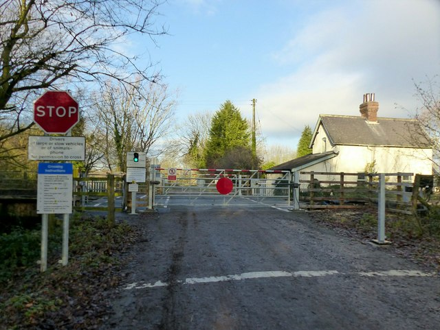 Jacky Duffin Wood level crossing
