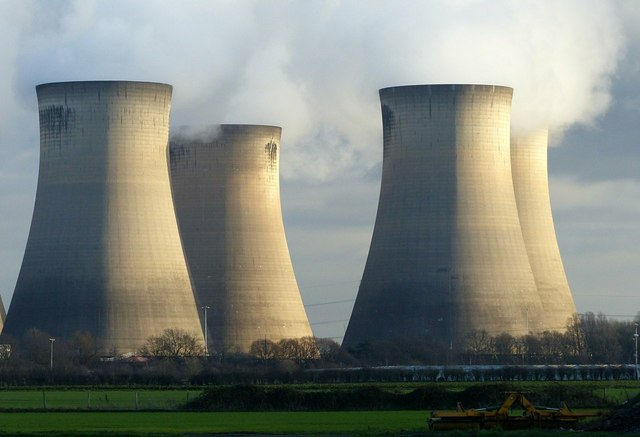 Cooling towers, Drax Power Station