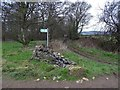 SE2506 : Junction of paths by Gadding Moor Plantation by Neil Theasby