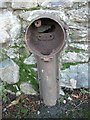 SH6268 : Remains of water tap, Llanllechid by Meirion