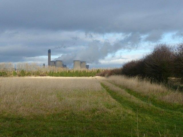 Farm access track off Mill Lane, Carlton