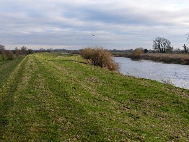 River Aire near Carlton Bridge