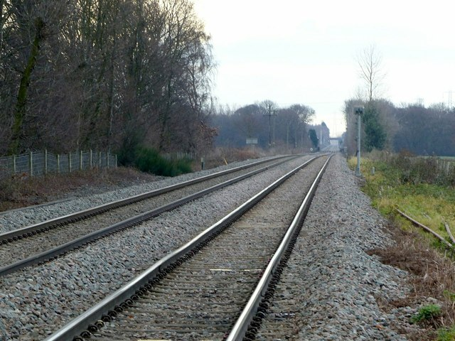 Railway line to Drax Power Station