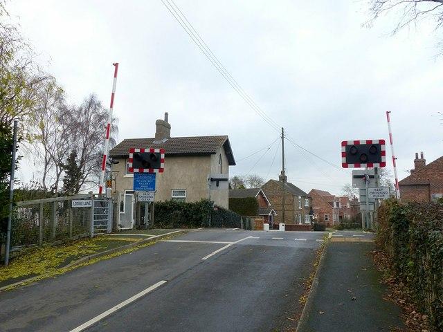 Gowdall Lane Crossing