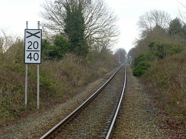 Railway line at Gowdall