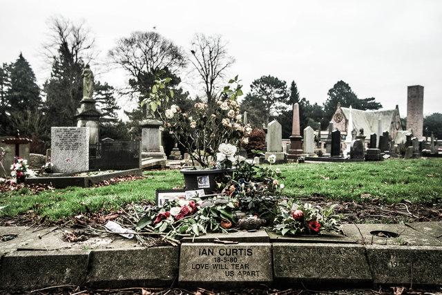Ian Curtis's Memorial Stone, Macclesfield Cemetery