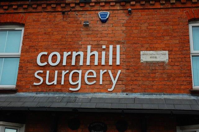 Cornhill Surgery (2) - detail, 65 New Road, Rubery, near Birmingham