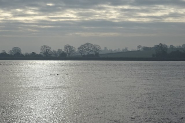 View across the Severn to Awre
