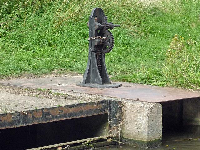 Canal drainage paddle