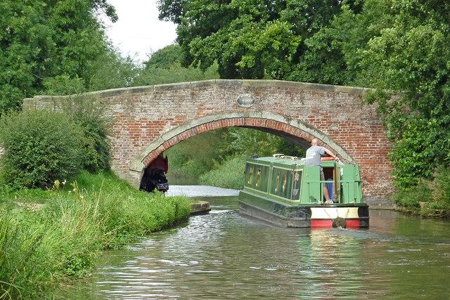 Baswick Bridge south-east of Stafford