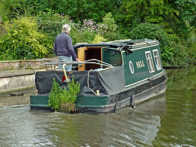Narrowboat Nell by Radford Bank near Stafford