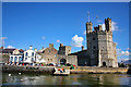 SH4762 : Caernarfon Castle from the 'Queen of the Sea' by Jeff Buck