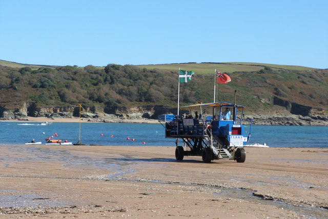 South Sands at Salcombe, Devon