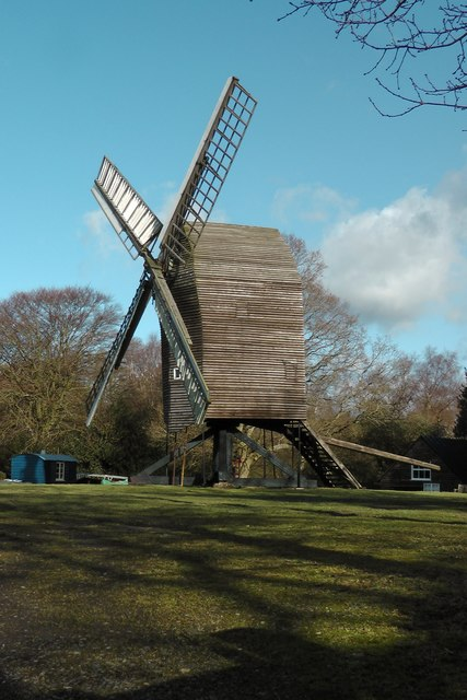 Nutley Windmill in East Sussex