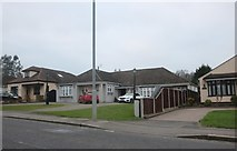 TQ5193 : Bungalows on North Road, Havering-atte-Bower by David Howard