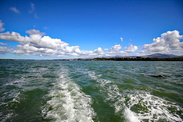 Boat trip on the Menai Strait