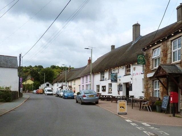 The Taw River Inn, Sticklepath, Devon