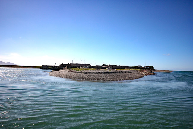 View towards the Dock near Fort Belan